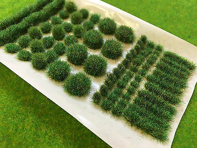 Summer BIG True Tufts mixed - Model Scenery Static Grass Natural Railway Wild