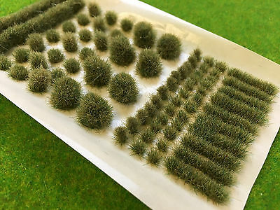 Winter BIG True Tufts mixed - Model Scenery Static Grass Natural Railway Wild
