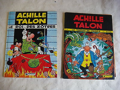 LOT 2 BD - ACHILLE TALON Editions originale - T 16 (1977) + T 17 (1977) - vL1606