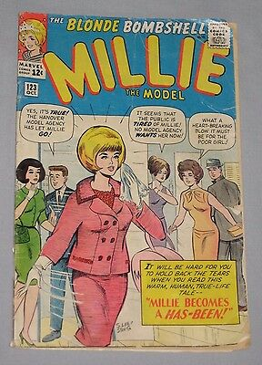 Millie The Model #123 Oct 1964 Marvel Comic ~ Stan Goldberg Stan Lee ~ Rare