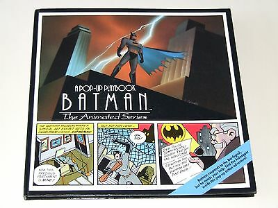 Batman - The Animated Series HC (1994 A Pop-Up Playbook)