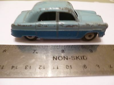 Vintage Diecast Meccano DINKY TOYS Ford Zephyr No.162 Toy Car Model