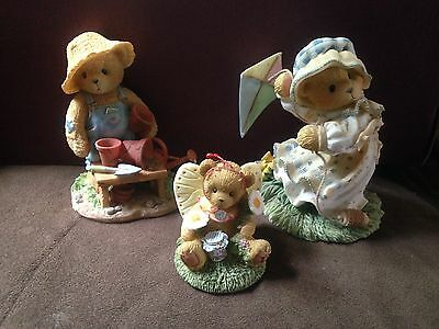 Cherished Teddies Megan, Tridtan, and Butterfly
