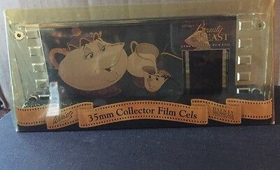 Beauty & The Beast 35 MM Film Cel Willits Design Enchanted Objects Ed. Numbered