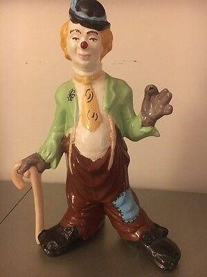 Vintage Clown 15 Inches Tall Very Unique