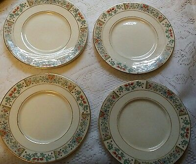 Knowles Taylor Knowles Bread Plate Saucers? Pattern KTK224 Set of Four