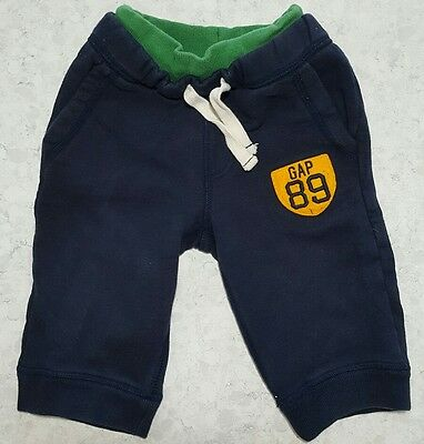 Baby GAP 12-18 month sweatpants navy & green