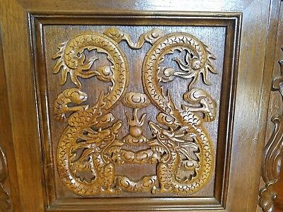 Rare Chinese DRAGON Vintage Grandfather Clock