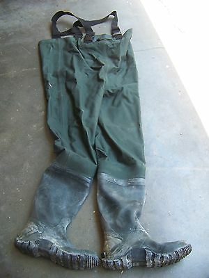 Frogg Toggs Bootfoot Chest Waders - Mallard Green - Men's Size 11