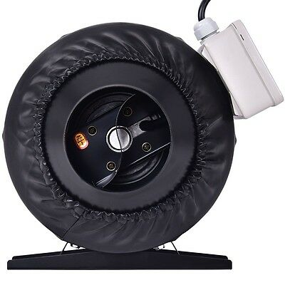 "4"" 6"" 8"" Inline Duct Fan Hydroponics Exhaust Cooling Blower House High Quality"