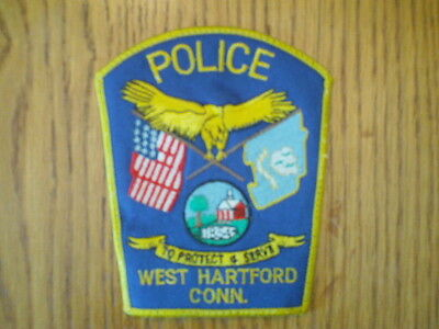 West Hartford Connecticut Police Patch