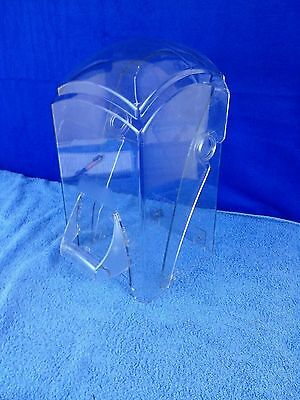 Vitamix Blender Touch & Go Station REPLACEMENT 2 Piece Clear Dome Cover Door