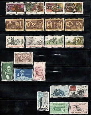Mint Lot Of 5 Different Sets 40 to 60 Years Old Nice Collection Mint/nh (A-19)