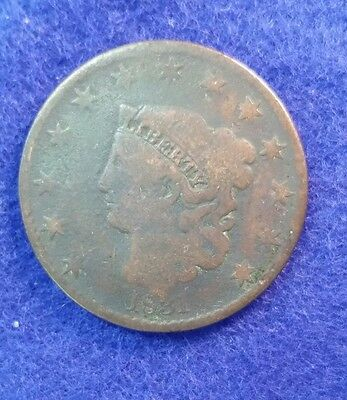 1831 Large Cent - Very Good Details