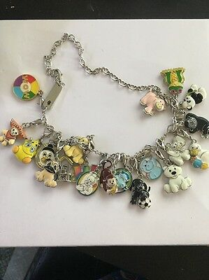 Webkinz Charm Necklace and Bracelet and 20 Collectable Charms MANY RARE