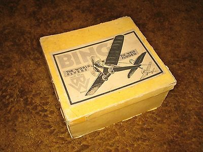 "Vintage 1927-8 Bing ""World Flyer"" Airplane tower with OB"