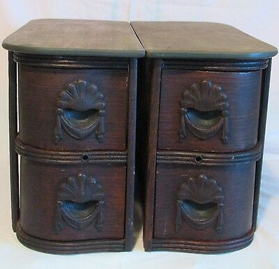 1890's White Treadle Sewing Machine FOUR (4)  DRAWERS w/ Frames