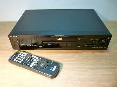 Sony DVP-S725D 5.1 Region Free Audiophile DVD CD Player Remote DTS/Dolby