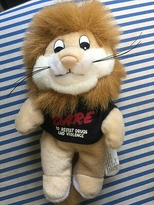 DAREN THE DARE LION Mascot Of Drug Abuse Resistance Education 6""