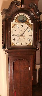 "Antique Oak Automation Ship ""Bury St Edmunds "" Longcase / Grandfather Clock"