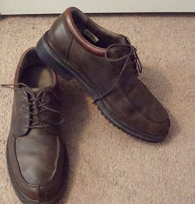 Cole Haan, Men's Sz 8M, Brown  Leather Oxfords, Shoes,