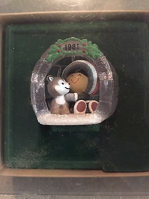 HALLMARK FROSTY FRIENDS Lot of 10 with  #2 FROM 1981 EXCELLENT CONDITION