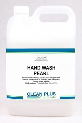 Clean Plus Hand Wash Pearl Biodegradable Solvent and Phosphate Free 5 Litres