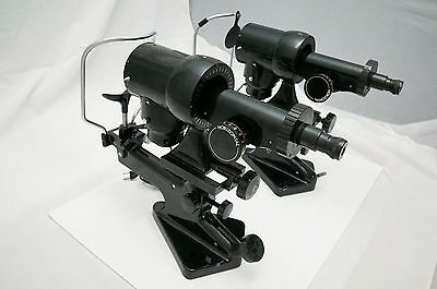 TWO (2) Bausch & Lomb Optical 71-21-35 Keratometer Ophtalmometer