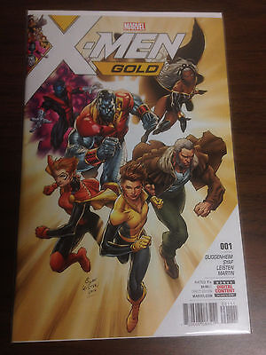 X-Men Gold #1 NM/MT Unread Syaf Controversial Issue 1st Print Marvel Comic 2017!