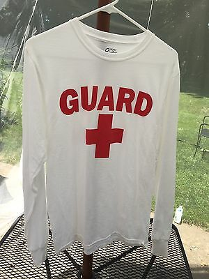 Lifeguard  - Unisex Long Sleeve T-Shirt - Port & Co - Size Small
