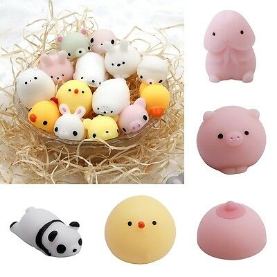Anti Stress Animals Soft Reliever Ball Autism Mood Squeeze Toy Kids Child Gifts