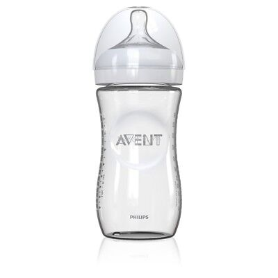 NEW Philips Avent Natural Glass 240mL Bottle