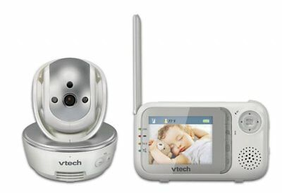 NEW VTech BM3500 Pan & Tilt Safe & Sound Video & Audio Baby Monitor