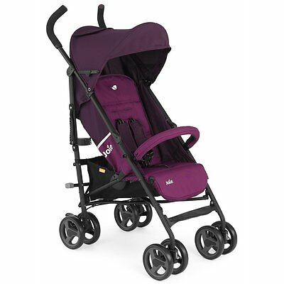 NEW Joie Nitro LX Stroller Mulberry