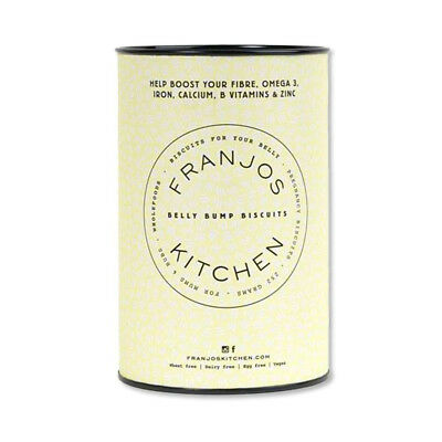 NEW Franjo's Kitchen Apricot & Ginger Belly Bump Biscuits- 14 biscuits