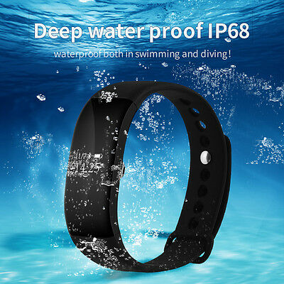 V66 Smart Watch Band for IOS Android OLED Screen Bluetooth4.0 Sport Pedometer RE