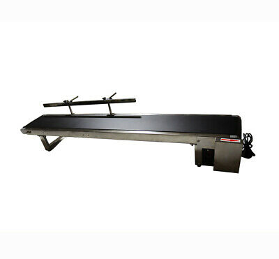 Desktop style: Newest Conveyor/PVC Belt/110V Electric/59''x 7.8''/Single Fence