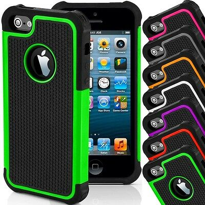 Shockproof Heavy Duty Rugged Slim Protect Armor Defender Case Cover USA SELLER