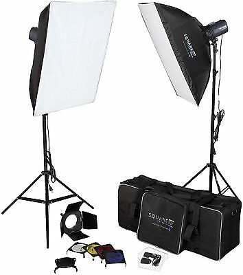 Photography Studio Kit Complete With Photo Lighting - Strobes - Stands And More!