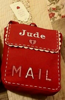 POTTERY BARN KIDS NEW WITH TAGS Valentine chair backer monogrammed JUDE