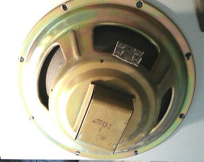 "VINTAGE 12"" Speaker #29B49-1 (8 Ohm)  Tested & sounds great! LOW SHIPPING!!"