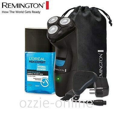 Remington Mens Cordless Electric Razor Rechargeable Beard Shaver Pack Groomer