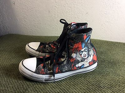 Converse All Star Chuck Taylor Harley Quinn Men's Size 5 Sneakers Shoes RARE