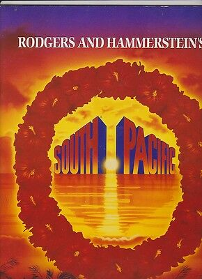 Rodgers and Hammerstein's South Pacific Theatre Programme - Brisbane 1993