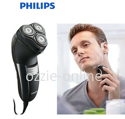 PHILIPS Mens Electric Shaver Facial Face Beard Shave Close Cut Flex Neck Corded