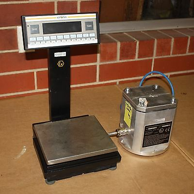 Sartorius FC12CCE-SX  Explosion Proof Balance Scale 12,000g x 0.1g Power Supply