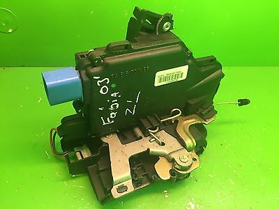 Door Lock Mechanism Skoda Fabia Rear Left Side 3B4839015Ag
