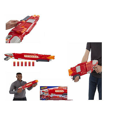 Nerf N Strike Elite Shotgun Pump Gun Blaster Foam Double Barrel Toy Mega Dart