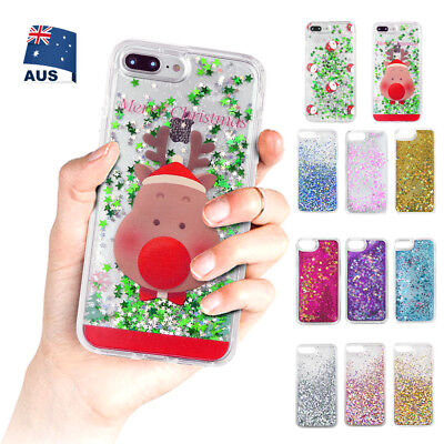 Liquid Glitter Chic Sparkle Bling Moving Quicksand Case for iPhone 8 7 6S Plus