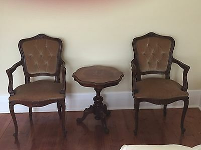 Antique Occasional Chairs x 2